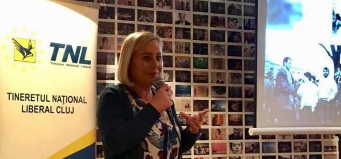 Maria Forna, președintele TNL Cluj- PNL Cluj promovează tinerii!