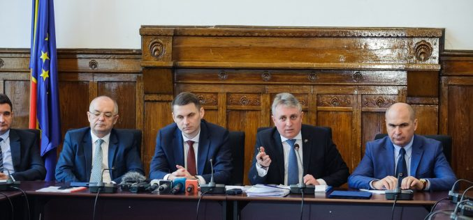 Proiectele de infrastructură pe agenda discuțiilor purtate de ministrul Lucian Bode cu o parte din primarii membri ai Alianței Vestului