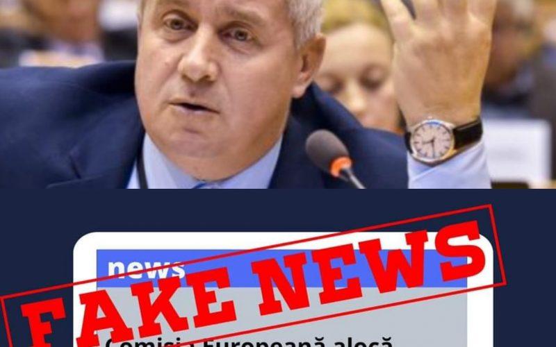 DANIEL BUDA | ANTENȚIE FAKE NEWS: Comisia Europeană alocă Franței 300 de miliarde de euro în lupta cu COVID-19, iar României doar 1 miliard de euro!