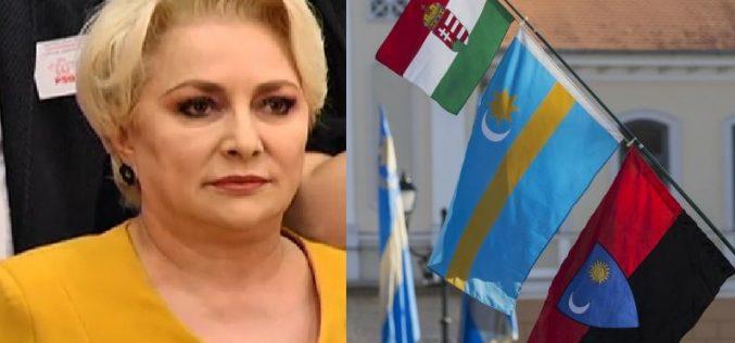 Viorica Dăncilă, despre proiectul privind Ținutul Secuiesc: Un afront la adresa suveranității. Vezi AICI ce prevede PROIECTUL