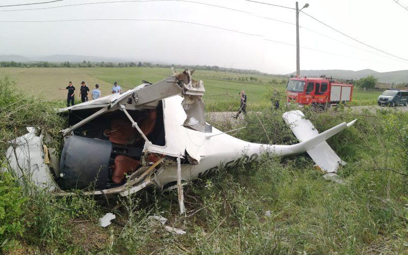 FOTO   Avion prăbușit la Vințu de Jos ăn Judeșul Alba