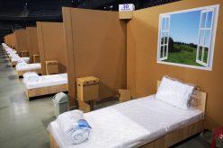 VIDEO | Sala Polivalentă din Cluj, transformată în centru de spitalizare pentru Covid-19