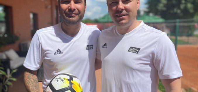 Adi Mutu – meci de tenis cu echipa Sports Festival