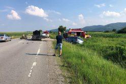 FOTO – Accident rutier pe raza județului Cluj. Traficul este îngreunat