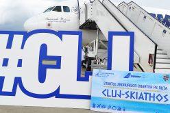 FOTO | Skiathos, Grecia este prima destinaţie charter operată de compania Tarom,  de pe Aeroportul Internaţional Cluj în sezonul de vară 2020
