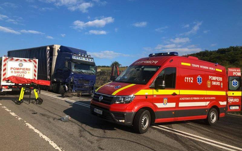 FOTO – 3 persoane decedate în urma unui grav accident rutier în județul Cluj