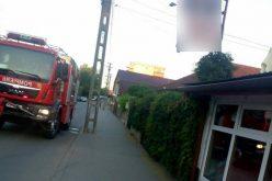 Incendiu la un local din municipiul Gherla
