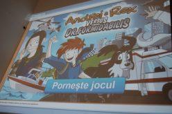 Copiii pot învăţa cum să reacţioneze în situaţii de urgenţă cu ajutorul unui joc de calculator: Andrei & Rex versus Dr. Formidabilis – FOTO