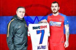 Alibec, prezentat oficial de Steaua. Ce număr va purta atacantul