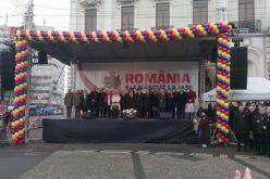 Klaus Iohannis, huiduit în absență la Iași. Reacția ieșenilor chiar în momentul depunerii  coroanei din partea președenției.