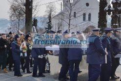 FOTO/VIDEO: Subinspector de poliţie post mortem NISTOR GHEORGHE – I.P.J Maramureş a fost condus pe ultimul drum, de familie și colegi, duminică dimineața.