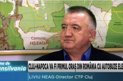 VIDEO / Metrou sau tren suspendat, o soluție în perspectivă pentru Cluj-Napoca.  Vezi ce spune  directorul CTP