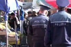 """Razie în Cluj. Comercianții au fost """"puricați"""" de polițiști"""