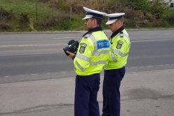 VIDEO Maratonul vitezei, varianta poliției. Peste 200 de șoferi au fost amendați la Cluj