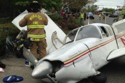 VIDEO: Imagini înfiorătoare! Un avion se prăbușește și ia foc în apropierea unei șosele din SUA