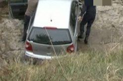 Cum a ajuns un șofer clujean să cadă cu mașina de la o diferență de nivel de 2 metri