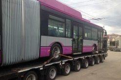 Ultimul din cele 20 de troleibuze cumpărate de Primărie a ajuns la Cluj-Napoca