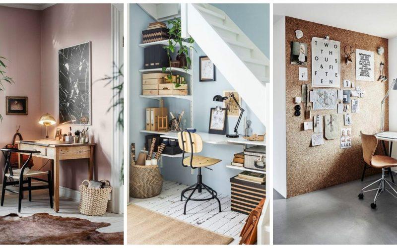 Cum poți avea un birou cool la tine acasă. Sfaturi pentru birouri mici și pentru birouri mari