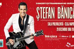 Mai sunt doar 500 de bilete pentru cel mai așteptat concert de Crăciun de la Cluj-Napoca susținut de Ștefan Bănică!