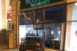 VIDEO: A intrat cu mașina într-o bijuterie din centrul Aradului