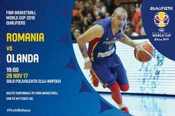 Acces gratuit pentru elevii din Cluj-Napoca la meciul de baschet România-Olanda