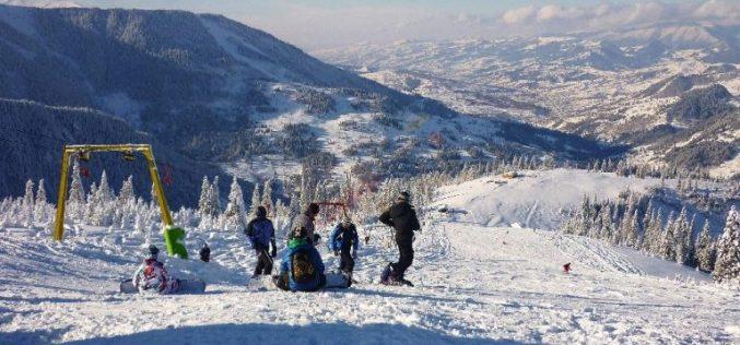 Pârtiile de schi de la Borşa, numai bune pentru practicarea sporturilor de iarnă!