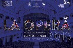 Opera Națională Română din Cluj-Napoca inaugurează stagiunea 2018-2019 în aer liber