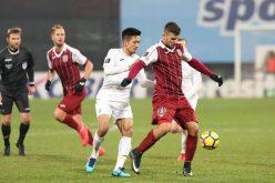 CFR a câștigat în Armenia și are culoare favorabil spre grupele Europa league
