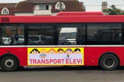 Un număr de 300 de mașini nu mai circulă în centrul Clujului după ce a început proiectul pilot al municipalității cu autobuze școlare