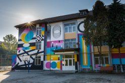 """""""Artă în curtea școlii – Lăsați artiștii stradali să coloreze Clujul"""" – Un proiect implementat în Cluj-Napoca în urma procesului de Bugetare participativă 2017"""