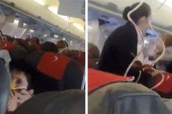 VIDEO / Panică într-un avion BlueAir pe ruta Cluj-Dublin: 'S-a depresurizat şi mirosea a ars