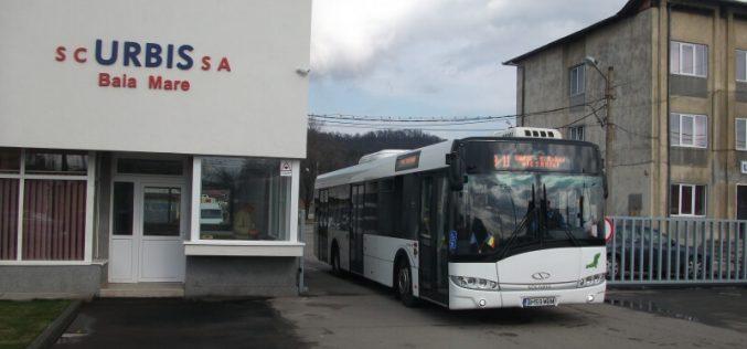 Transport gratuit pentru elevii și studenții din Baia Mare. Pensionarii săriți din schemă