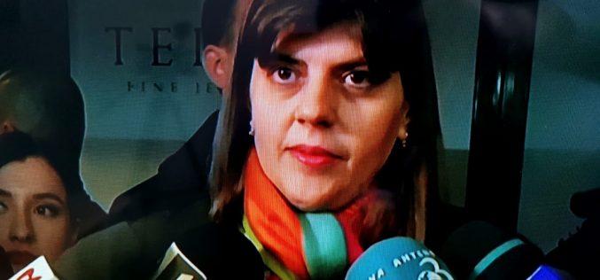 Kovesi: Va fi o decizie politică, ce a depins de mine am făcut