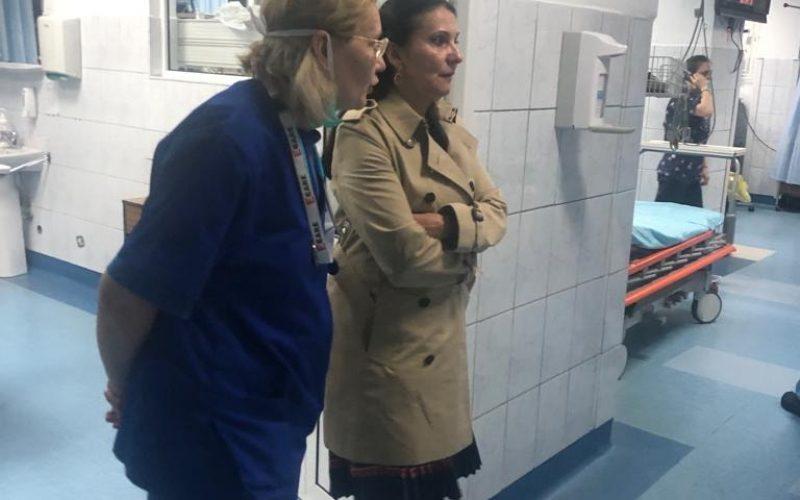Sorina Pintea trimite o echipă de control la Spitalul Clinic de Urgență Cluj după controlul inopinat