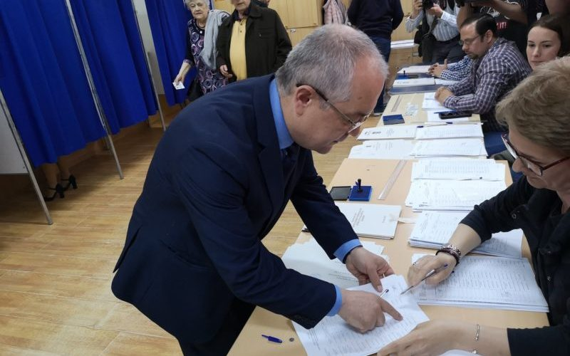 Emil Boc: Am votat pentru cei care pot asigura cu demnitate parcursul european al României – VIDEO