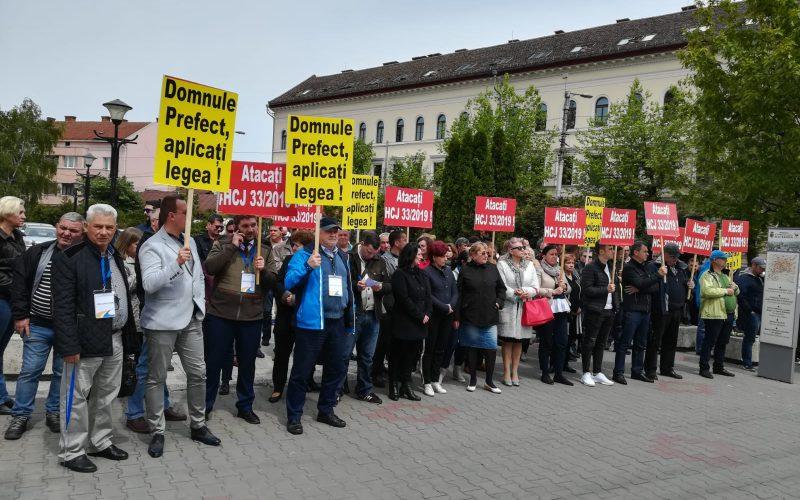 Acțiunea spontană a angajaților Aeroportului Internațional Avram Iancu Cluj