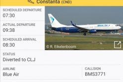 VIDEO: Se întâmplă tot mai des. Ce probleme a avut avionul Blue Air și ce spun pasagerii care trebuiau sa ajungă deja la Contanța