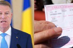 Președintele Klaus Iohannis a semnat, luni, decretul pentru promulgarea Legii privind sistemul public de pensii