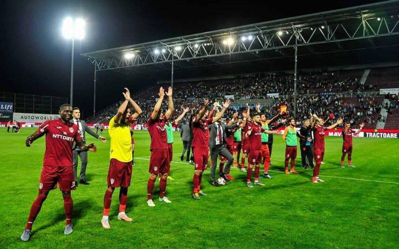 """Hattrick-ul lui Omrani ține CFR-ul în Liga Campionilor! Camora: """" A fost cel mai bun meci al nostru"""""""