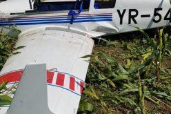 Un avion de mici dimensiuni a aterizat forțat în județul Mureș. Un american a fost rănit