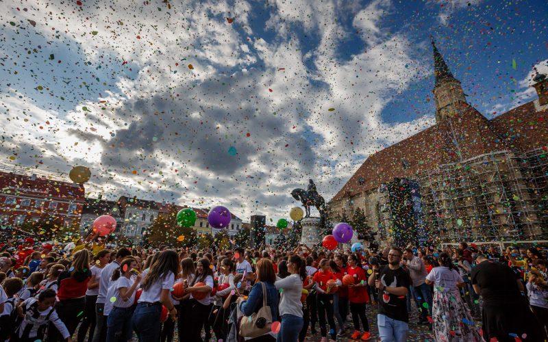 Cea de-a 9-a ediție a Zilelor Clujului a început astăzi, 27 septembrie, cu două evenimente în centrul cărora s-au aflat copiii.