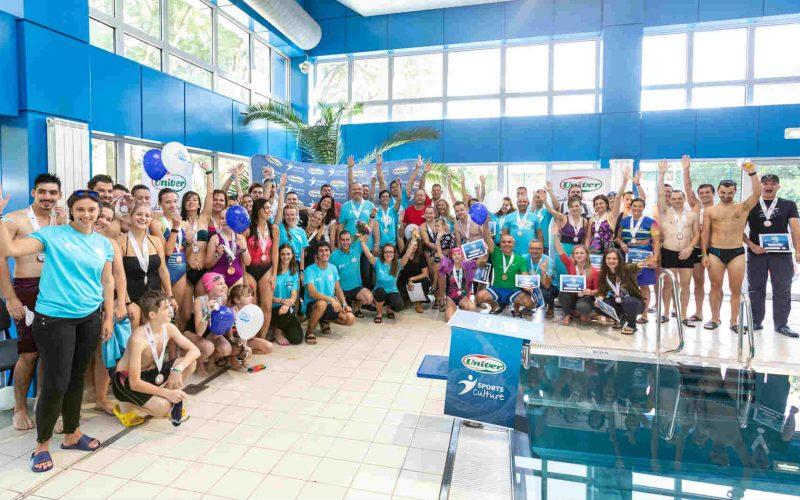 Maraton de înot la Cluj Napoca! Peste 800 de persoane au participat la proba de 24 de ore