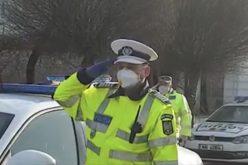 Imnul României, transmis de Poliție în toată țara