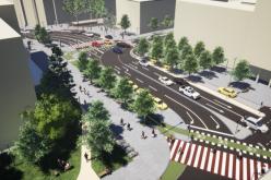 CLUJ NAPOCA  Au început lucrările de modernizare în Piața Blaga și pe străzile Napoca, Petru Maior, Emil Isac și Republicii